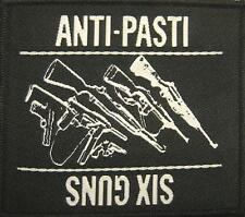 "Anti-pasti ricamate/Patch ""Six Guns"""