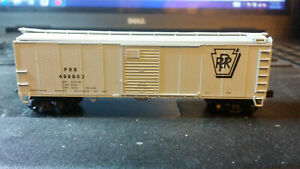 RED CABOOSE,N SCALE,40' BOX CAR,PRR.FREE SHIPPING
