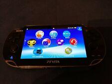 PlayStation Vita PS Vita Konsole Sony Crystal Black PCH-1004 + 10 Spiele