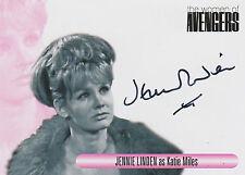 The Women Of Avengers Autograph Card WAJL Jennie Linden As Katie Miles