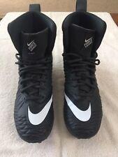 Nike Force Savage Varsity Black White Football Cleats 880140-010 Mens Size 7.0