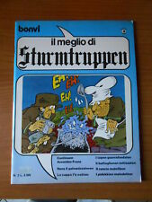 il meglio di STURMTRUPPEN anno 1° n.2 ed. CORNO agosto 1983-fumetto d'autore