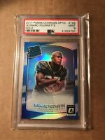 2017 LEONARD FOURNETTE PANINI DONRUSS OPTIC HOLO REFRACTOR PSA 9 #169 ROOKIE