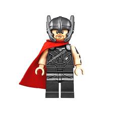 Lego Thor 76084 Red Cape, Helmet Thor Ragnarok Super Heroes Minifigure