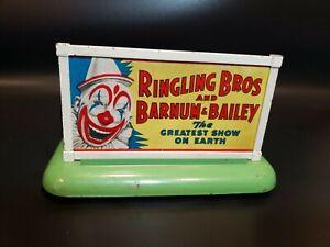 Vintage American Flyer ~ Gilbert Trains Billboard Ringling Barnum Bailey Circus