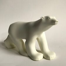 "9"" Polar Bear Sculpture Reproduction F. Pompon Metropolitan Museum of Art 1984"
