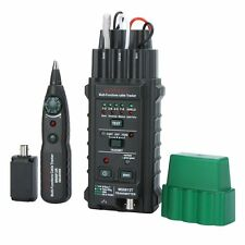 Mastech Multifunctional Network Cable Tester Set Wire Telephone Line Detector