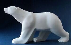 Ours Blanc Eisbär -M- FRANCOIS POMPON Skulptur Parastone Museumsedition POM01
