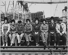 Women Welders World War 2 WWII Black & Photo Print Picture