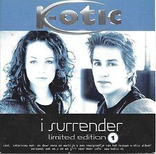 K-Otic  – I Surrender     cd single in cardboard  Limited edition part 1