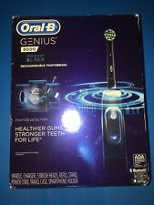 Oral-B Genius Pro 8000 with Phone Mount, Charging Holder and Two Brush Heads