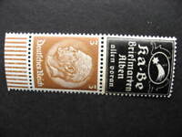 Germany KA-BE, 10.1.1937 special stamp day overprinted, pair MNH