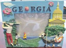 The State of Georgia Ceramic Picture Frame