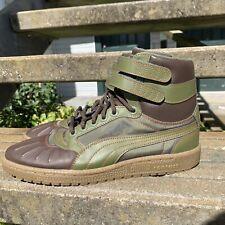 Puma Sky II Hi Duck Boot 362891-02 - Green/Brown -Men's Size 8.5 NEW