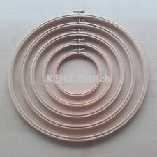 WOODEN CROSS STITCH / EMBROIDERY HOOP / RING *5% OFF 2+* (3 - 12in / 7.5 - 30cm)