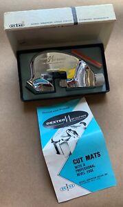 Vintage Russell Harrington Cutlery DEXTER Mat Cutter w/ Original Box & Blades