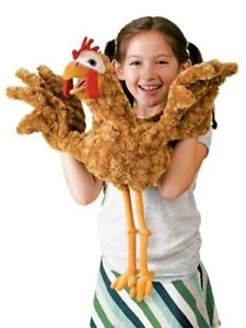 CHICKEN PUPPET # 2861 ~ FREE SHIPPING in USA !! Folkmanis Puppets