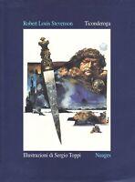 Ticonderoga - Robert Louis Stevenson - illustrazioni di Sergio Toppi