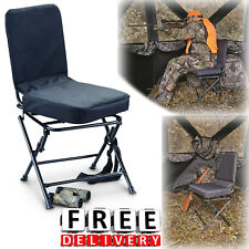 Beau Hunting Blind Chair Swivel 360 Degree Folding Travel Seat Stool Camping New