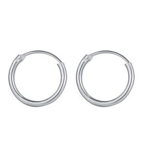 Men Women Stainless Steel Huggie Hoop Earrings Cartilage Lip Piercing Nose Hoop