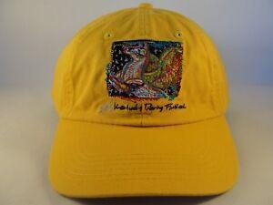 Kentucky Derby Festival 2010 Strapback Hat Cap Mustard