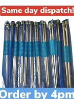 Quality Knitting needles size 2mm - 8mm Same Day Dispatch UK Seller 25/35cm