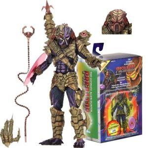 "NECA Lasershot Predator Ultimate Alien Hunter 7"" Action Figure Dark Horse Comic"
