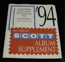 Scott #55 United States 20Th Century Blocks 140S094