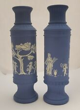 Avon Wedgewood-Look Decanter, Bud Vase, Or Candle Holder ~ Buy One Or Both