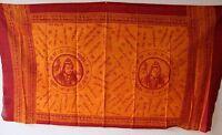Shiva Schal / Tuch 150 x 80cm Indien Sarong Strandtuch Wickeltuch Benares Neu
