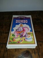 Walt Disney masterpiece collection Dumbo VHS RARE!!