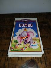 Walt Disney masterpiece collection Dumbo VHS RARE!!