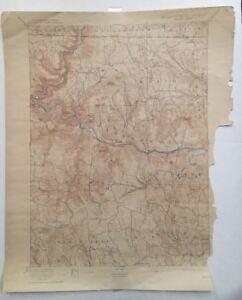 USGS Topographic Map 1894 Data HAWLEY QUADRANGLE, MASSACHUSETTS - VERMONT