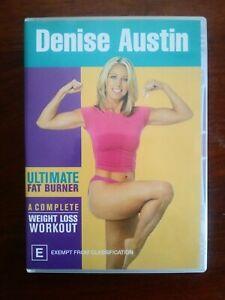 Denise Austin - Ultimate Fat Burner (DVD, 2004)