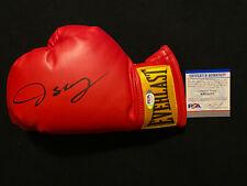 OSCAR DE LA HOYA Autographed Autograph Signed Boxing Glove Golden Boy PSA/DNA