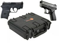 Elephant Handgun Hard Case waterproof for Glock 42 Smith & Wesson Bodyguard 380