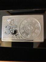 2017 Mexico Libertad 35th Anniversary Silver Bar/coin Set W/Box & COA