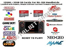 128 gb & 32 gb sd cards for RG-350 Handheld w/ Rogue Custom Firmware Installed