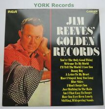 JIM REEVES - Golden Records - Excellent Condition LP Record RCA Camden CDS 1145