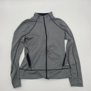 Champion Grey Duo Dry Long Sleeve Full Zip Active Wear Jacket Women's Size S/P
