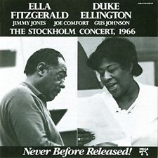 ELLA FITZGERALD - DUKE ELLINGTON Stockholm Concert 1966 - CD - Live