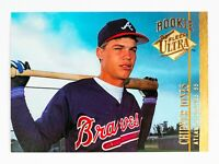 Chipper Jones #152 (1994 Fleer Ultra) Rookie Baseball Card, Atlanta Braves, HOF