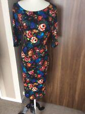 New Dorothy Perkins Body Con Tube Dress Summer Dress Size 16,3/4 Sleeves