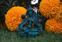 Good Luck GREEN TARA Resin Statue Tibetan Buddhist Statue Home Decor Nepal