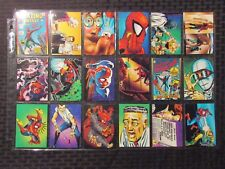 1992 30th Anniversary SPIDER-MAN Trading Cards Set #1-90 NM 9.4