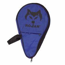 Rojan Tischtennisschlägerhülle Bat Case Ball Tray, Blue-Black