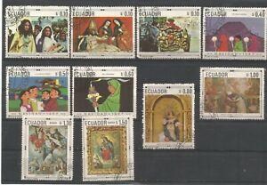 Ecuador Easter stamp