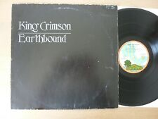 King Crimson ‎– Earthbound 1st press GER 1972 PINK RIM  LP  Vinyl  vg++
