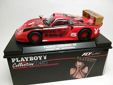 Slot Car Fly Porsche 911 GT1 Playboy Collection 1988 Compatible 1/32 Scalextric