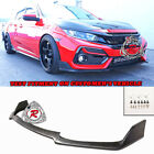 Tr-style Front Lip Urethane Fit 17-21 Honda Civic 5dr Hatch Sport Touring